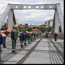 Славута БЕТОН М300 - будівництво мостів