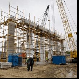 Славута БЕТОН М350 - будівництво моста