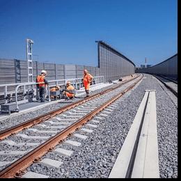 Славута БЕТОН M400 - будівництво мостів для залізниць