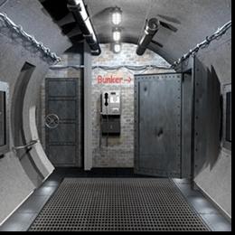 Славута БЕТОН M450 - будівництво бункера (бомбосховище)