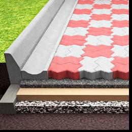 Славута БЕТОН - щебінь. Укладання тротуарної плитки